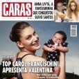 Carol Francischini está na capa da revista 'Caras' desta semana com a filha, Valentina