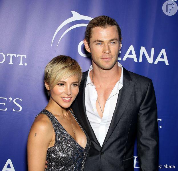Elsa Pataky está grávida do segundo filho do ator Chris Hemsworth, segundo notícia divulgada em 20 de novembro de 2013