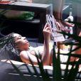 A cantora Solange Knowles, irmã de Beyoncé, é vista curtindo momentos de folga em Santa Teresa, na tarde desta quinta-feira, 21 de novembro de 2013