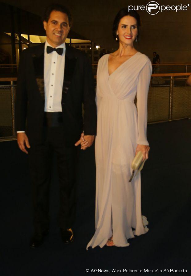 Vanessa Gerbelli na gravação de especial de final de ano de Roberto Carlos na TV Globo