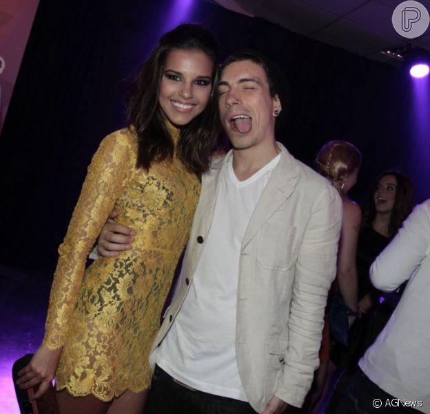 Mariana Rios e Di Ferrero vão passar a viarada do ano juntos, em 29 de dezembro de 2012