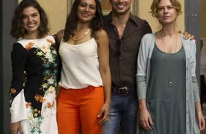 Cauã Reymond e Isis Valverde aparecem separados em foto de 'Amores Roubados'