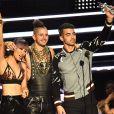 Joe Jonas e seu grupo DNCe ganhou o prêmio de 'melhor novo artista' no VMA 2016