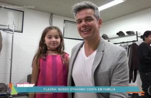 Otaviano Costa elogia aparição da filha, Olívia, no 'Tamanho Família': 'Futuro'