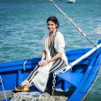 Alice (Giovanna Antonelli) tem peças com inspiração oriental em seu figurino