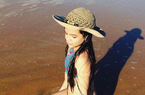 Mel Maia exibe tatuagens pelo corpo aos 12 anos e esclarece aos fãs: 'De henna'