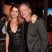 Leticia Spiller e Marcello Novaes, ex-casal, celebram par em novela: 'Histórico'