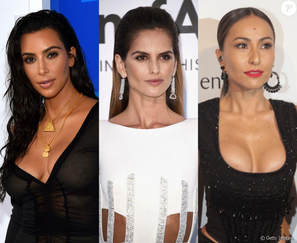 Confira em nossa galeria famosas como Kim Kardashian, Izabel Goulart e Sabrina Sato que apostam na tendência wet look