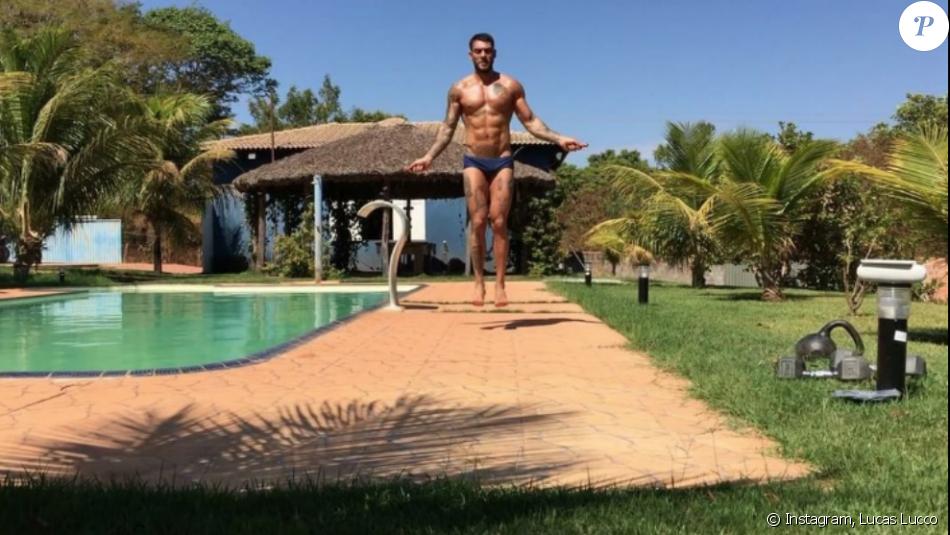 Lucas Lucco compartilhou um vídeo do seu treino nesta sexta-feira, 2 de setembro de 2016