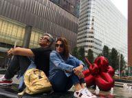 Flávia Alessandra curte viagem com marido, Otaviano Costa, e filhas em NY. Fotos