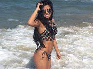 Ex-BBB Munik Nunes posa de biquíni e comemora: 'Hoje entrei no mar'