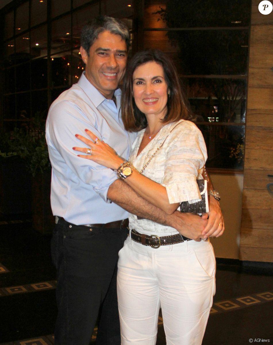 Uma fonte da revista 'Veja Rio', afirmou que as brigas entre  Fátima Bernardes e William Bonner eram recorrentes