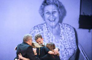 Claudia Leitte se emociona após ouvir música composta em homenagem à avó