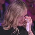 Claudia Leitte   chorou no 'Tamanho Família' deste domingo, 4 de setembro de 2016