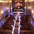 Os dois se casaram no fim de tarde, na capela da PUC, Zona Oeste de São Paulo, em uma cerimônia para 300 convidados