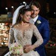Ex-BBBs Kamilla Salgado e Eliéser  Ambrósio se casaram neste domingo, 4 de setembro de 2016