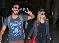 Tatá Werneck e Gabriel Godoy desembarcam no RJ em meio a rumores de namoro