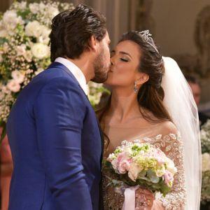 Elieser. Foto do site da Pure People que mostra Após casamento, exBBBs Kamilla Salgado e Eliéser sonham com filhos: 'Três'