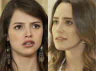 Novela 'Haja Coração': Camila descobre que Bruna explodiu o Grand Bazzar