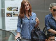 Marina Ruy Barbosa usa bolsa de R$ 15 mil e look total jeans em shopping. Fotos!