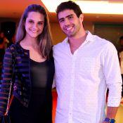 Juliano Laham faz planos com a namorada, Juliana Paiva: 'Casar, morar junto'