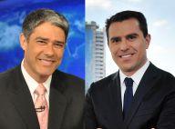 William Bonner pode ser substituído por Rodrigo Bocardi no 'JN'; Globo nega