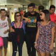 Wanessa Camargo é tietada por fãs em aeroporto nesta quarta-feira, 07 de setembro de 2016