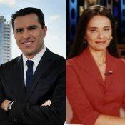 Globo nega mal-estar entre Rodrigo Bocardi e Carla Vilhena: 'Nunca exisitu'