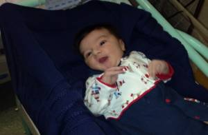 Mãe de Luciano Szafir, Beth conta que Sasha já visitou David: 'Ela está babando'