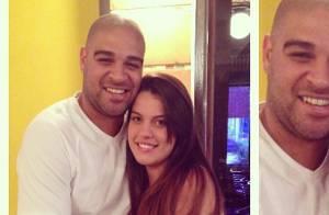 Namoro de Adriano Imperador chega ao fim por causa de ex-noiva grávida