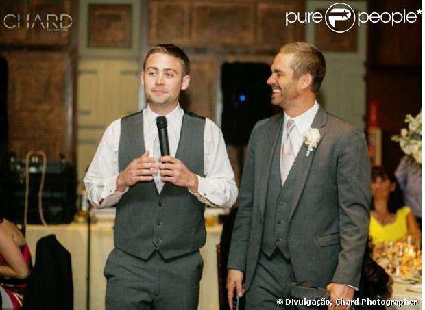 Cody Walker, irmão mais novo de Paul Walker, é convidado para substituir o irmão no filme 'Velozes e Furiosos 7', em 14 de dezembro de 2013