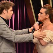 Fábio Porchat pede desculpas a Rita Cadillac em programa: 'Não pegou legal'