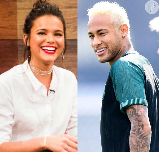 Neymar diminui regalias de amigos à pedido de Bruna Marquezine, diz colunista nesta terça-feira, dia 18 de outubro de 2016