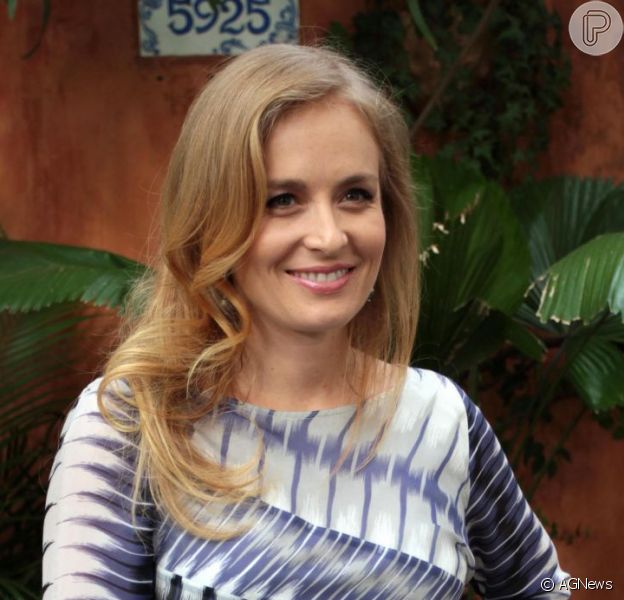 Angélica comenta que está amando ser mãe de uma menina. A entrevista foi divulgada pela colunista Patricia Kogut, no jornal 'O Globo', de 3 de janeiro de 2013