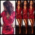 Kelly Rowland participa do 'The X Factor' com um vestido brilhoso Balmain