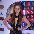 Sophia Abrahão escolheu um vestido da grife Litt Brasil para ir à pré-estreia do filme 'Confissões de Adolescente'