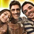 Xuxa costuma dizer que Junno Andrade é 'um paizão'. O ator e cantor é pai de Vinícius, de 25 anos, fruto da união com a apresentadora Cléo Brandão, e Luana, de 10, do relacionamento com a modelo Giuliana Masiviero