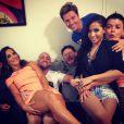 Anitta se tornou amiga de famosos como Ivete, Paulo Gustavo e o promoter David Brazil