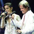 Anitta e Roberto cantaram uma mash up de 'Show das Poderosas' com 'Se você pensa'