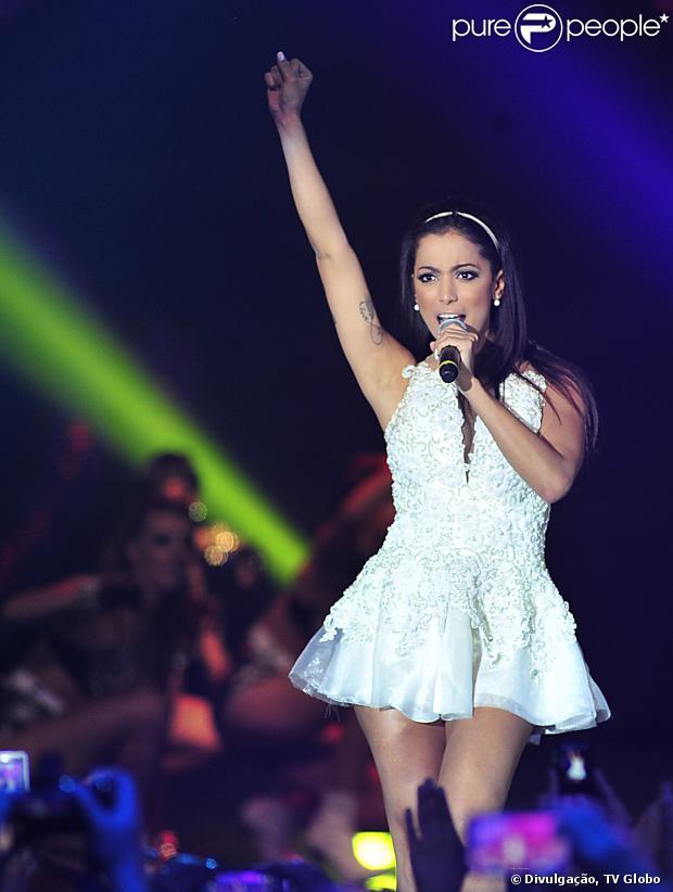 Anitta vai cantar no show da virada, que será exibido pela TV Globo na madrugada do dia 1 de janeiro de 2014