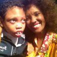 A atriz também é mãe de Jamal Anuar, que sofre da rara síndrome de West, uma espécie de epilepsia desde os dois meses de idade