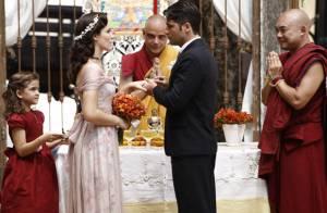 'Joia Rara': Franz e Amélia renovam os votos de casamento em uma segunda festa