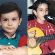 Luan Santana mostrou que era uma criança muito fofa!