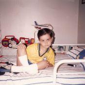 Luan Santana mostra fotos da infância e impressiona por semelhança com o pai
