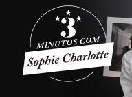 Vídeo: Sophie Charlotte fala de filme, filho, dieta e ganha elogio do marido