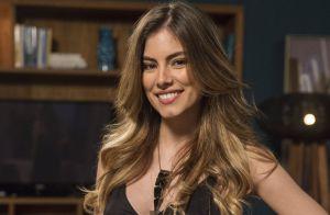 Grávida, Bruna Hamú segue em 'A Lei do Amor': 'Depois, Camila vai estudar fora'