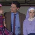 Cecília (Bia Arantes) ajuda Gustavo (Carlo Porto) a se livrar de Osmar, que é preso, e o empresário se diz eternamente grato à irmã, na novela 'Carinha de Anjo'