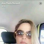 Ana Paula Renault pega táxi no Rio após defender Uber: 'Infelizmente'. Vídeo!