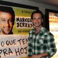Rodrigo Santoro prestigiou 'É o que temos pra hoje' no teatro Fashion Mall, em São Conrado, Zona Sul do Rio
