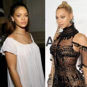 Rihanna nega alfinetada em Beyoncé: 'Não coloquem negras umas contra as outras'